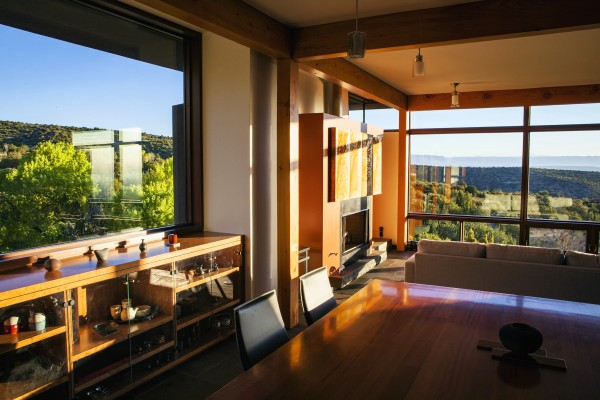 Morning Sky Residence by Michael Szerbaty;   © Jon Reis.  Contact the studio for rights to upload or publish this photo